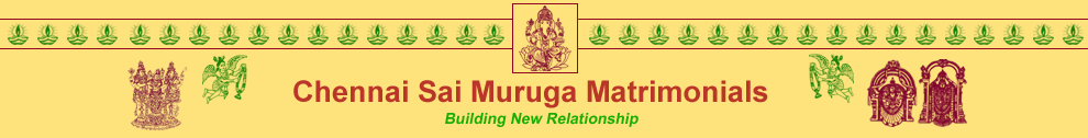 Sai Muruga Matrimonials| UserProfiles | Welcome to Sai